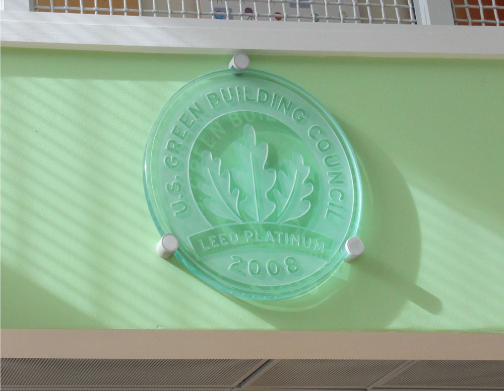 US Green Building Council,Leed Platinum 2008,certification
