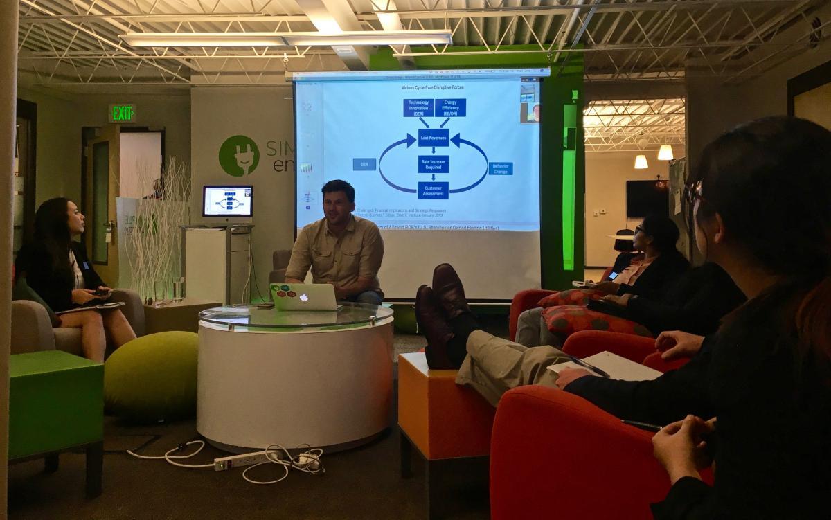 Energy Career Trek 2016 student blog: Visiting Simple Energy
