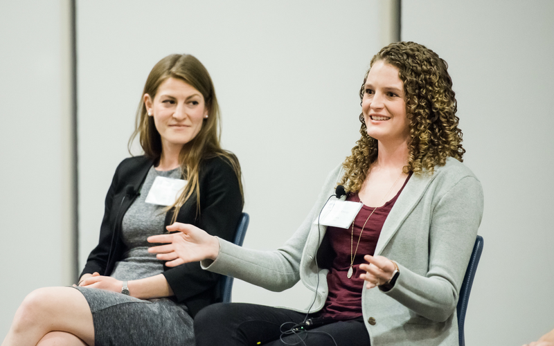 women in energy talks,Marina Yakhnis & Jessica Allen-energy experts,panel members