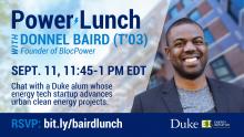 Donnel Baird Power Lunch