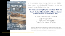 Energy, Politics, and Middle East History